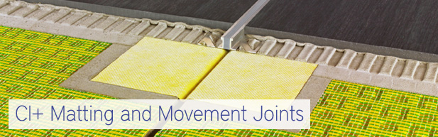 CI+ Matting and Movement Joints